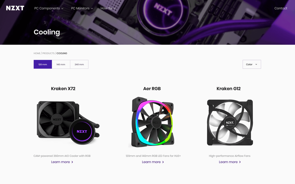 NZXT features