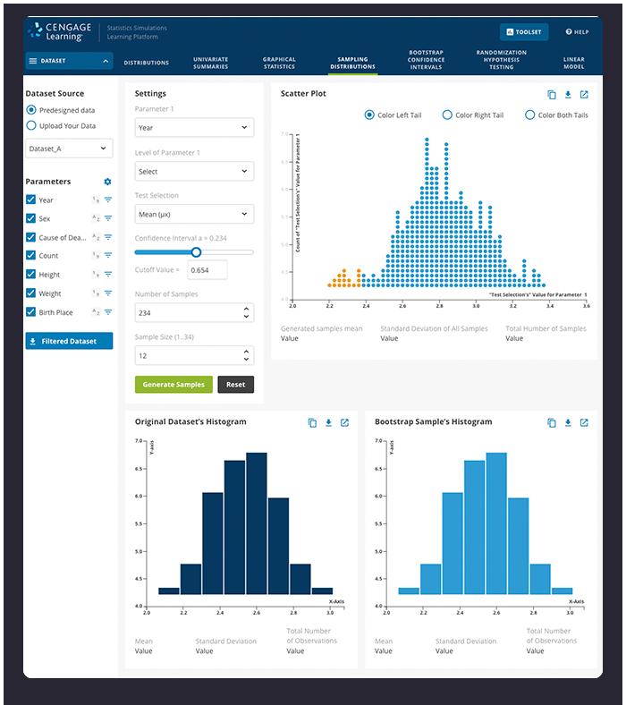 Statistics Screenshots