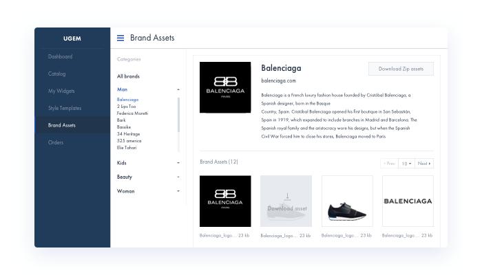 Multi Channel Selling Platform Downloading Assets