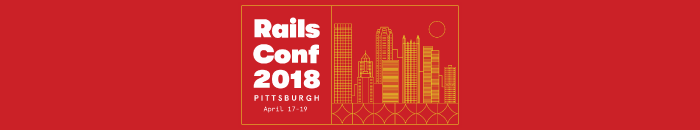 The Logo of RailsConf 2018