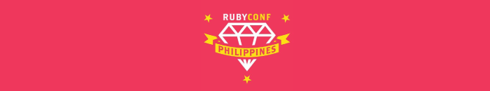 The Logo of RubyConf Philippines 2018