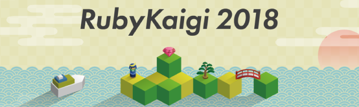 The Logo of  RubyKaigi 2018