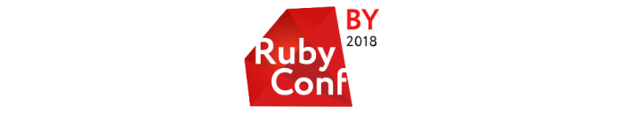 The Logo of RubyConfBy 2018