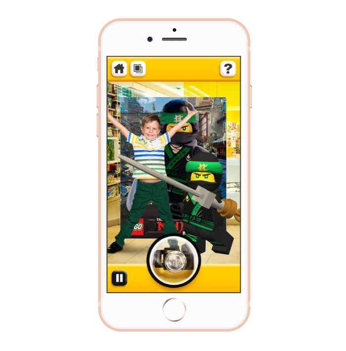AR for In-Store Entertainment