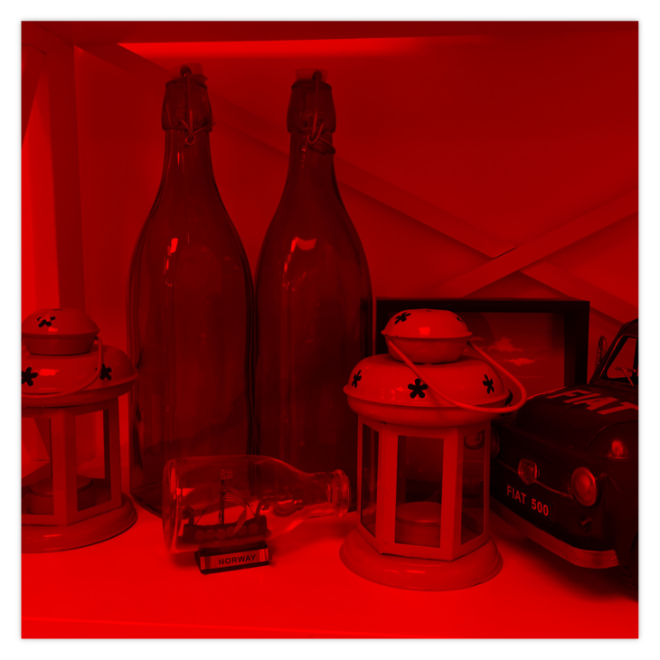 Image with Red Color Filter