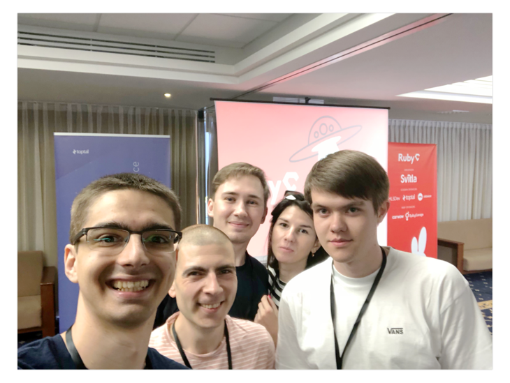 RubyGarage Team on RubyC 2018