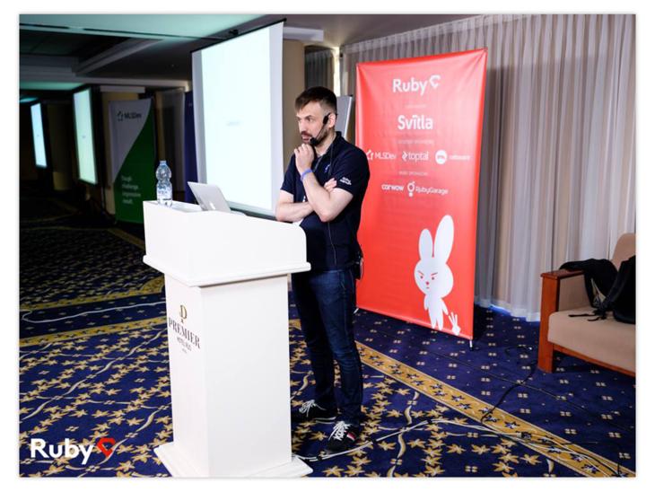 Volodymyr Vorobyov on RubyC 2018