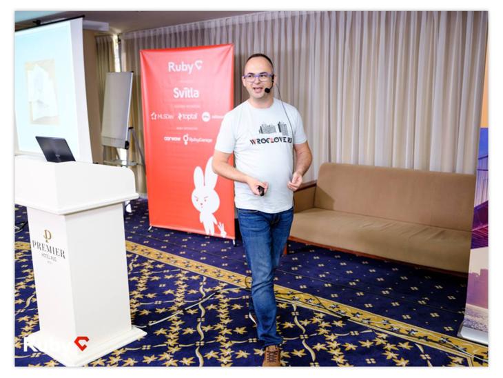 Andrzej Krzywda on RubyC 2018