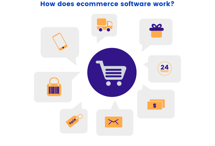 Work of ecommerce software