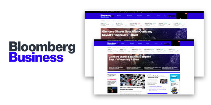 Best ruby on rails sites  - Bloomberg