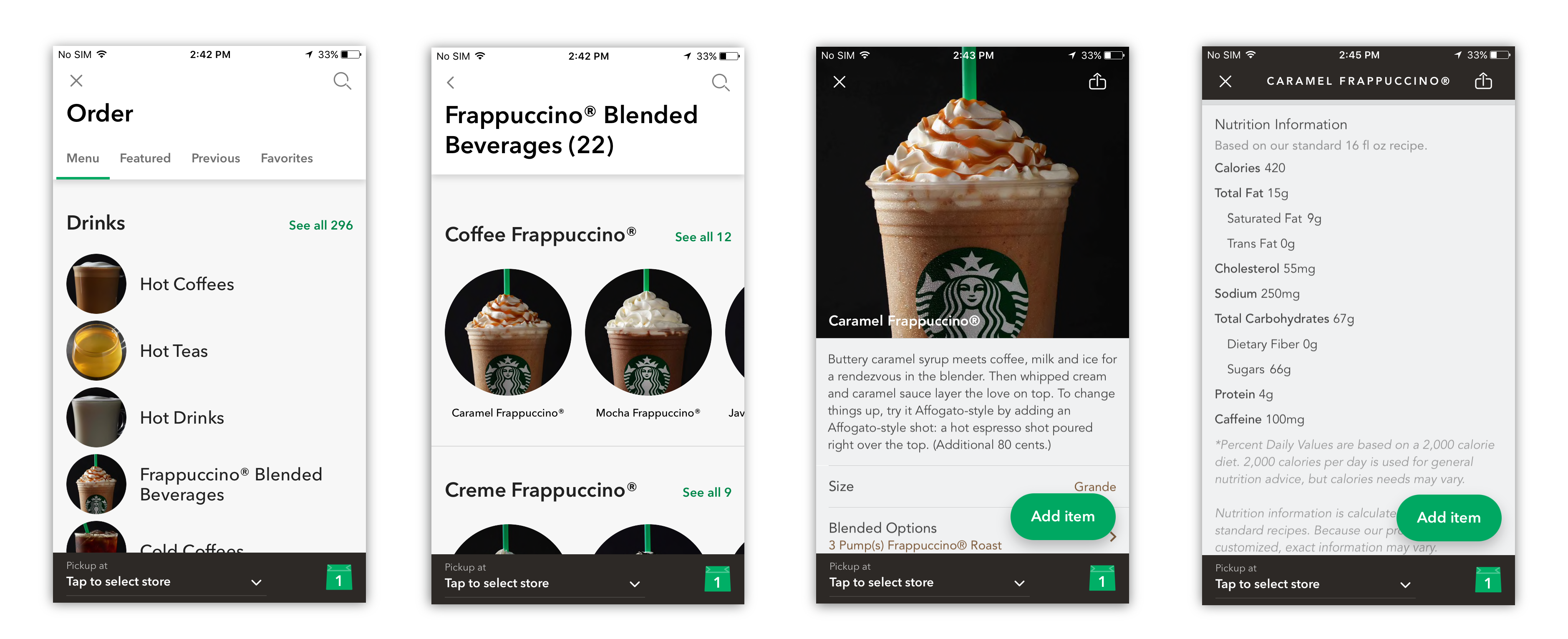 how much does it cost to build an app like starbucks