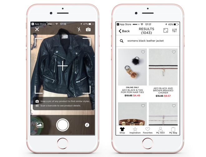 Application of AI by American Eagle Outfitters