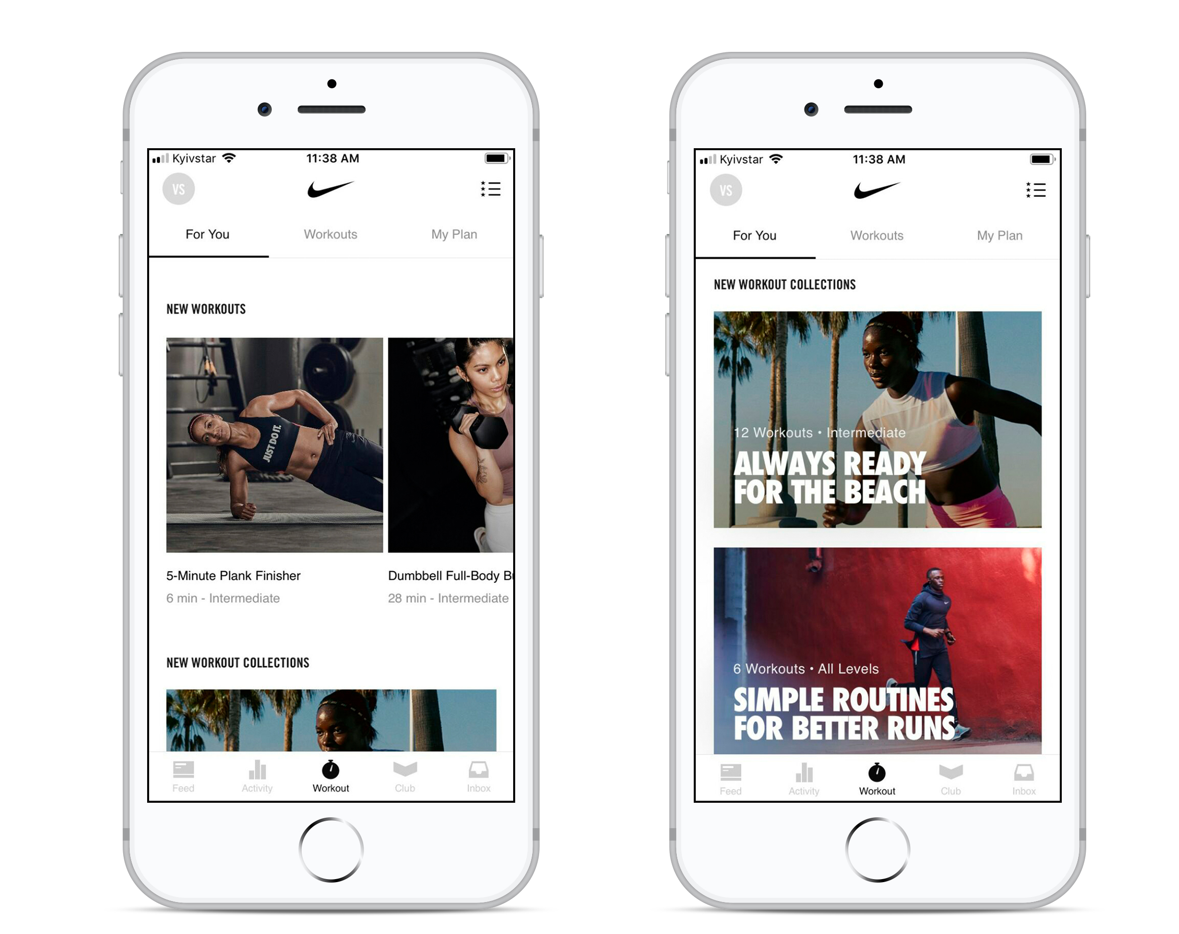 health app development: Nike