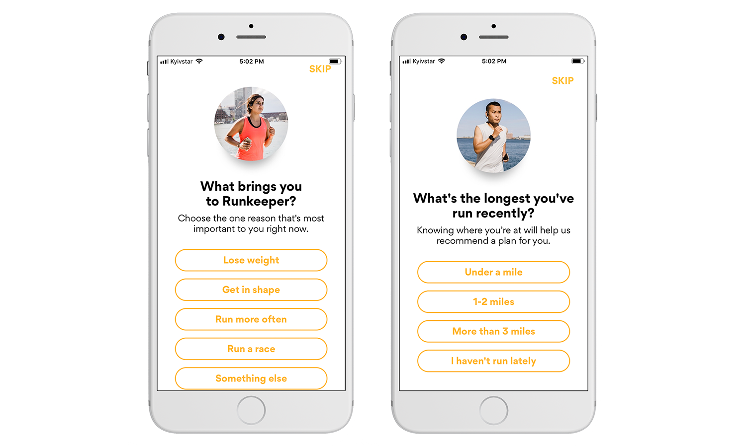 Development of an app like Runkeeper