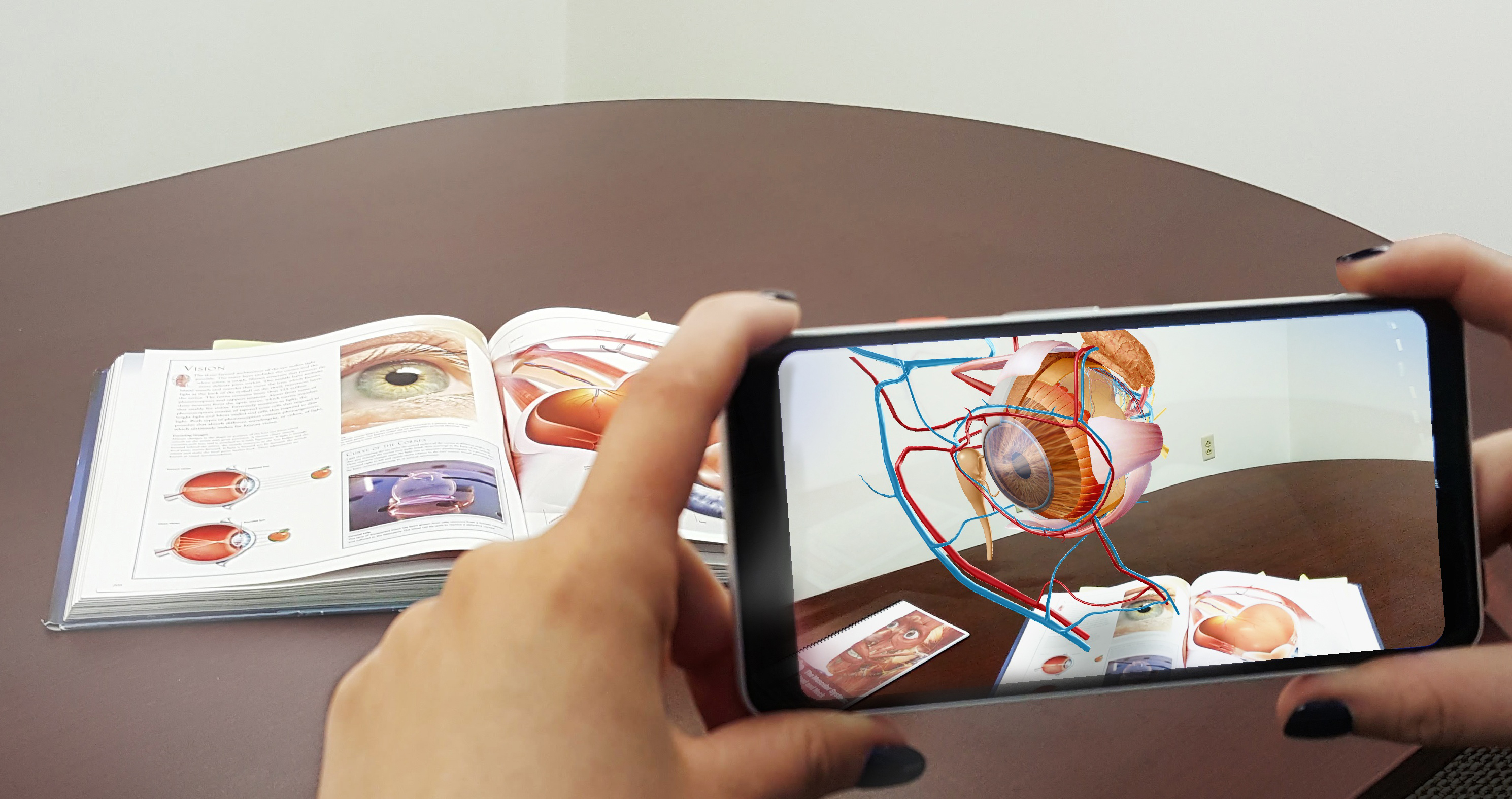 Using augmented reality in education and skills training