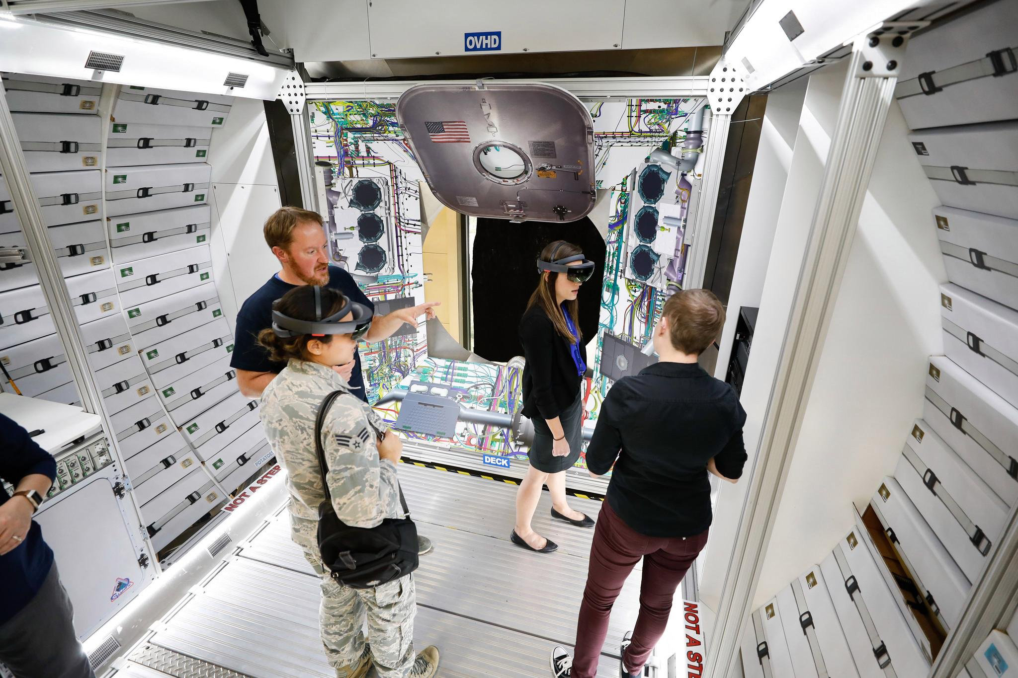 Augmented reality in education and astronaut training