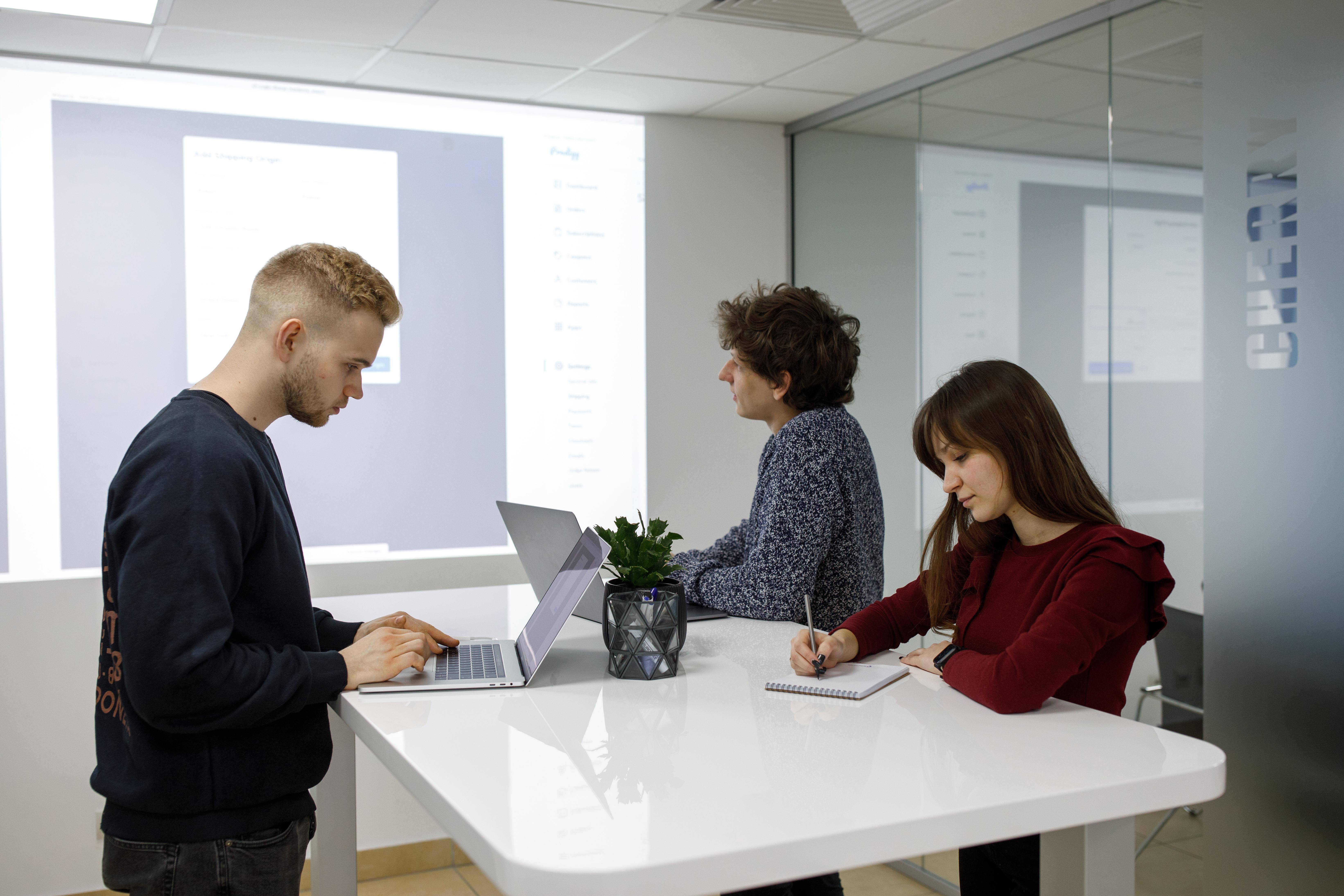 Website design planning session