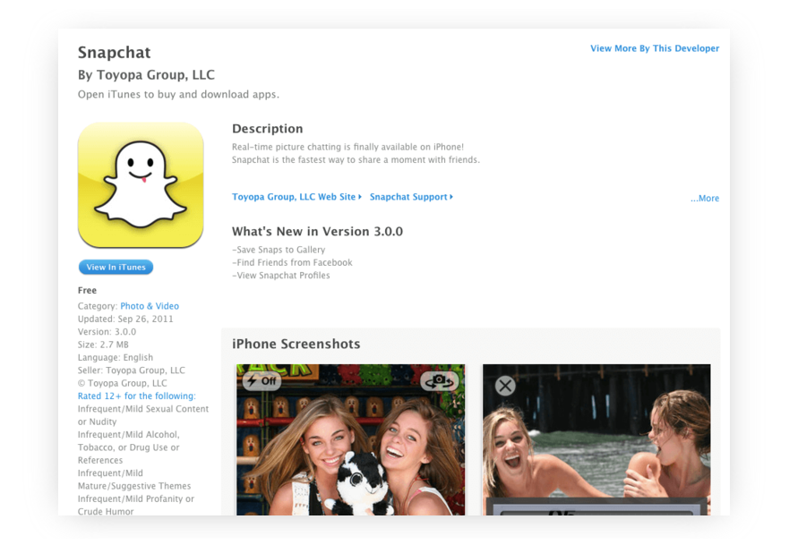 how to make an app like Snapchat