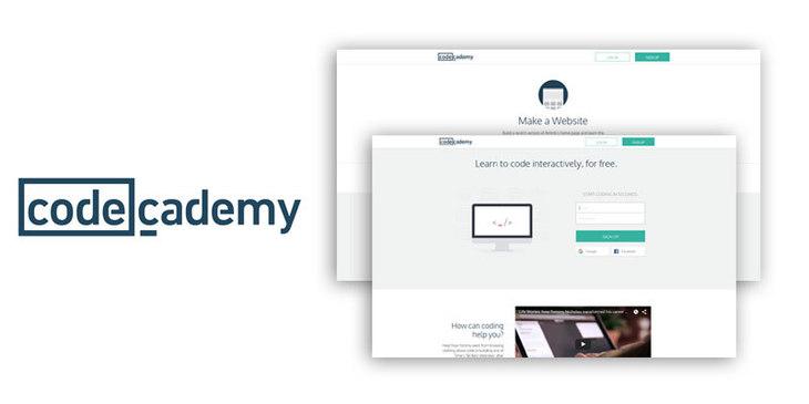 website built with RoR - Сodeacademy