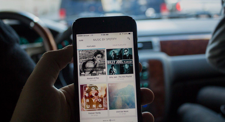 uber and spotify partnership