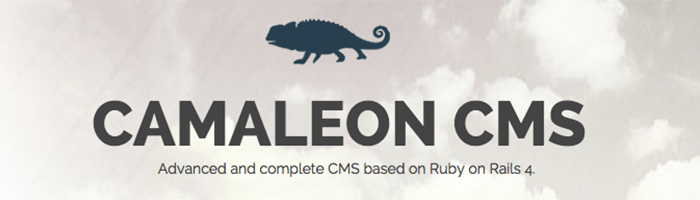 Best Ruby on Rails Content Management Systems - Camaleon CMS