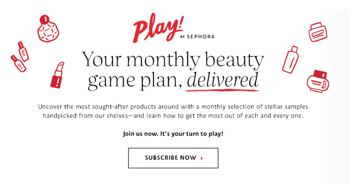 Sephora Shuffle Example